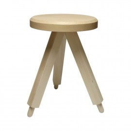 Tabouret Milk Stools 3 Naturel