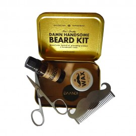 Kit Entretien Barbe Beard Grooming Men's Society