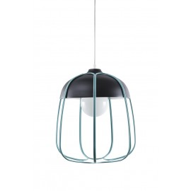Suspension Design Tull Noir et Bleu - Incipit